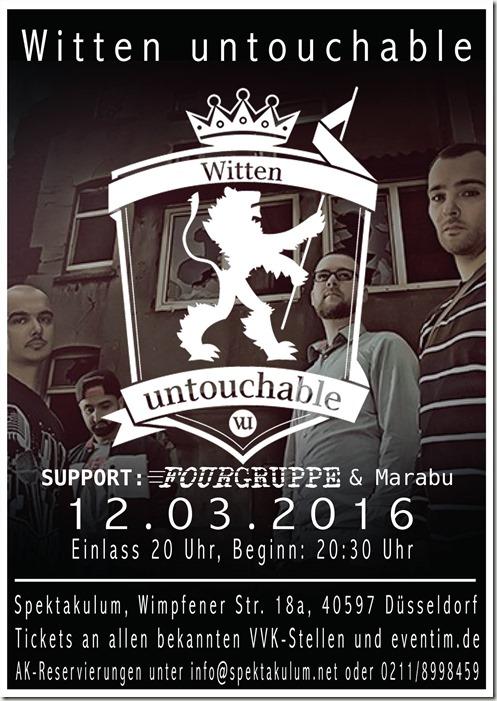 201604312_Fourgruppe WittenUntouchable@Spetakulum_Düsseldorf