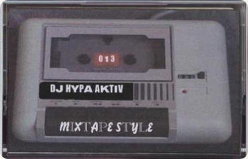 DJ Hypa Aktiv - Mixtapestyle Mixtape (Cover)