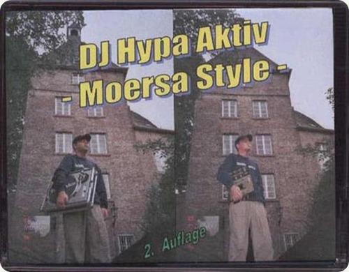 DJ Hypa Aktiv - Moersa Style Mixtape (Cover)
