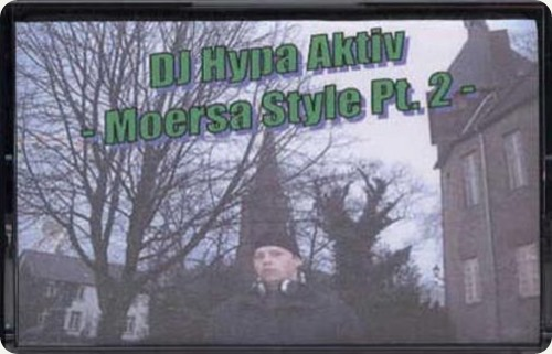 DJ Hypa Aktiv - Moersa Style Part 2 Mixtape (Cover)