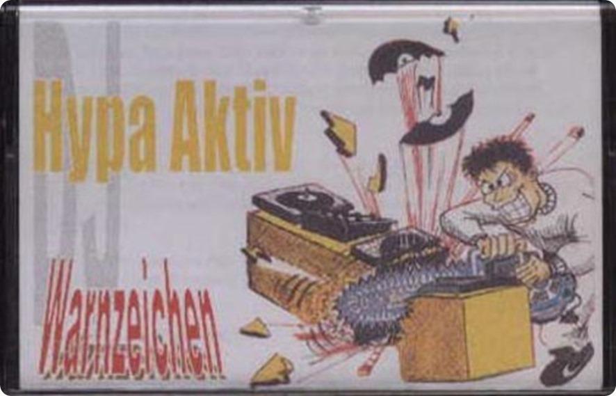 DJ Hypa Aktiv - Warnzeichen Mixtape (Cover)
