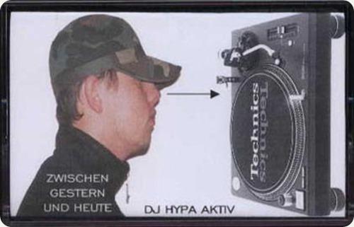 DJ Hypa Aktiv - Zwischen gestern und heute Mixtape (Cover)