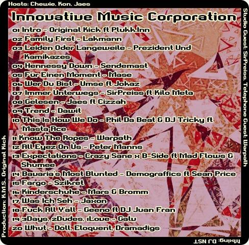 IMC Mixshow 1602 mit SirPreiss & Warpath (Tracklist)