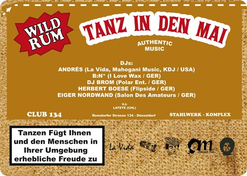 Different Strokes 3 - Tanz in den Mai (Flyer Back)