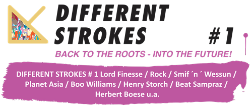 Different Strokes #1 - Back to the Roots - Into the Future (Flyer)