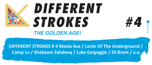 Different Strokes #4 - The Golden Age (Flyer)