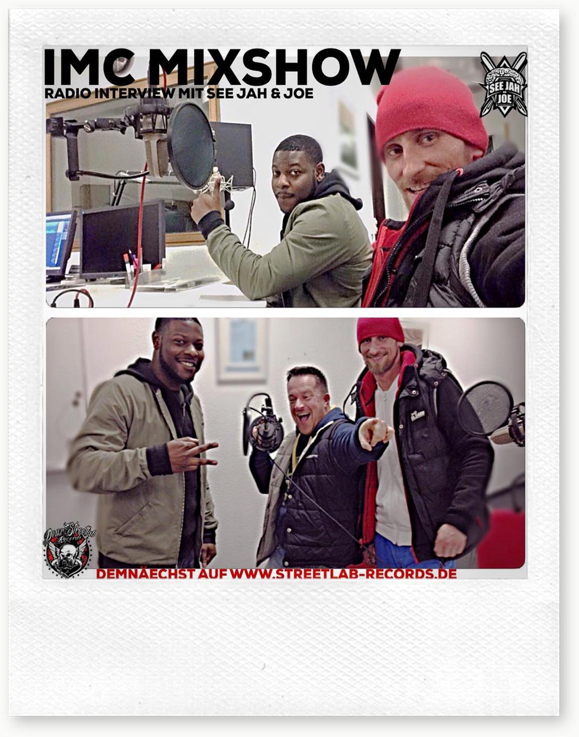IMC Mixshow 1603 mit See Jah & Joe (Flyer)