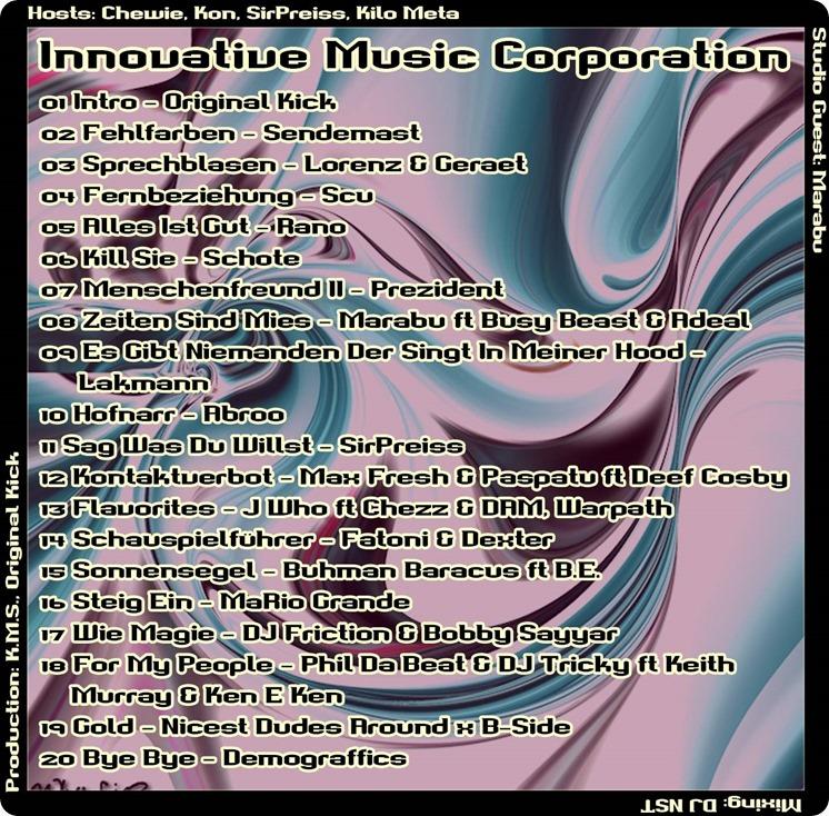 IMC Mixshow 1604 mit Marabu (Tracklist)