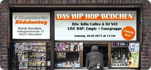 Hip Hop Büdchen mit Fourgruppe(Facebook Flyer)